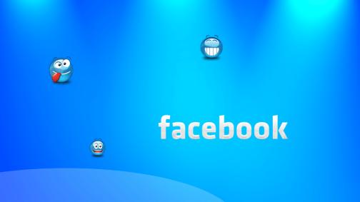 Facebook Fun Smilies Wallpaper