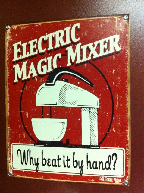 Electric Magic Mixer