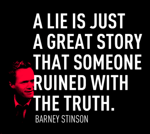 Don't Ruin A Great Story With The Truth