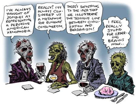 Upper Class Zombies