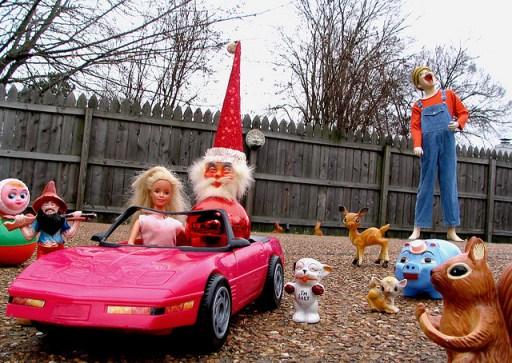 Crazy Creepy Santa