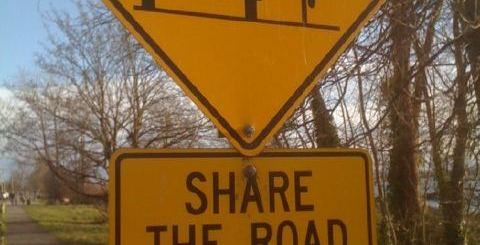 Like It Or Not, You Should Share The Road