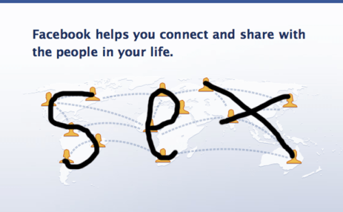 Facebook - It's All About Sex