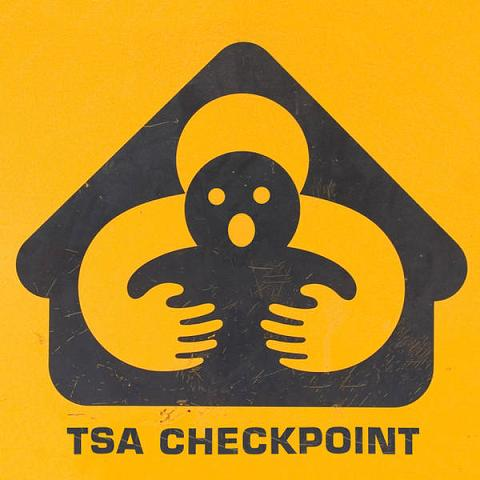 New TSA Checkpoint Signs