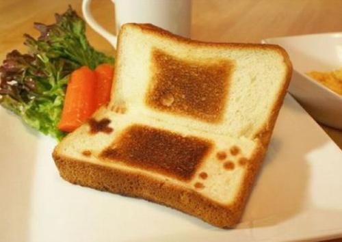 Gameboy Toast