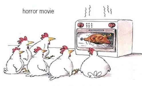 Horror Movies For Chickens