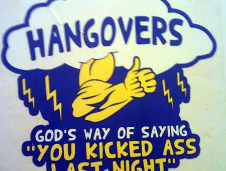 Hangovers Kick Ass