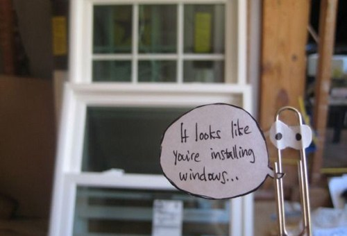 It Looks Like You're Installing Window. Need Help?