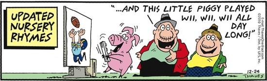 Little Piggy Played Wii Wii Wii
