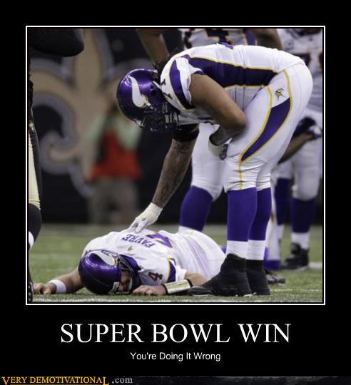 Go Vikings... Oh Wait... #fail