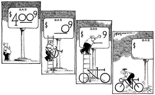 Skip The Gas Station, Get A Bike