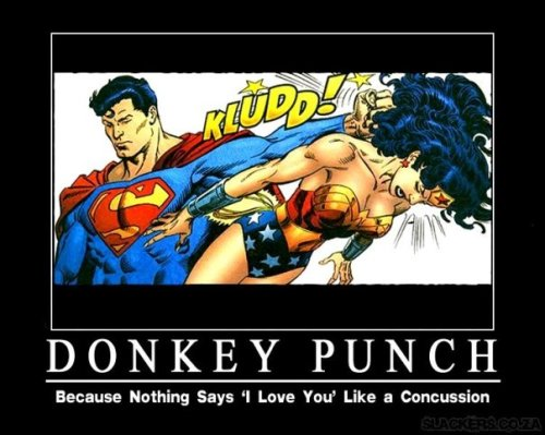 Nothing Says 'I Love You' Like A Donkey Punch