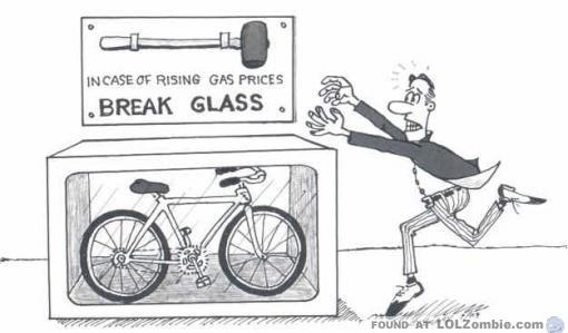 Bike Behind Glass