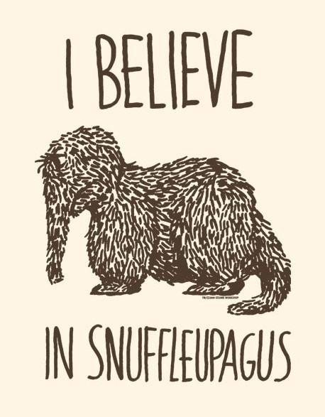 I Belive In Snuffleupagus