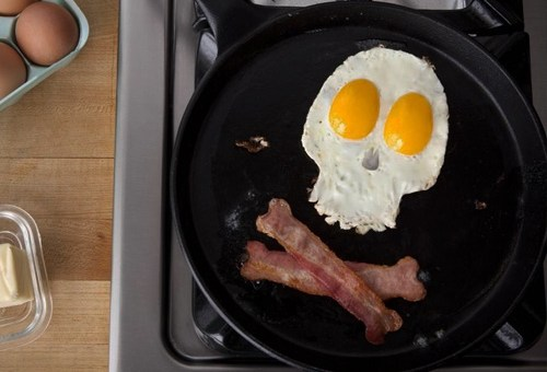 Start Your Day Off Right With Evil Bacon And Eggs