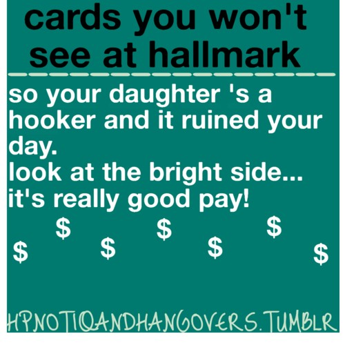 One Card You Won't See At Halmark