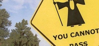 You cannot pass!