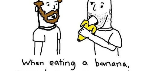Man Rule #329 - Don't Talk About Bananas