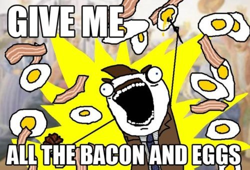 Give Me Bacon and Eggs!