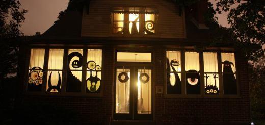 Best Halloween decorations I've seen yet.