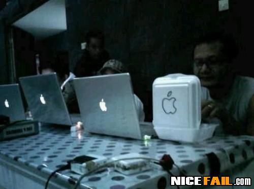 Apple Laptop Fail