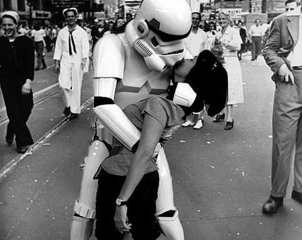 The Star Wars Kiss