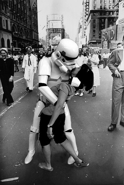 The Star Wars Kiss