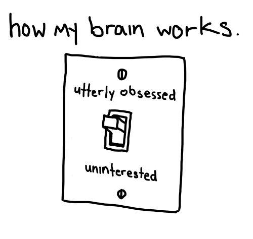 Obsessed uninterested