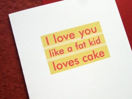 Mmm Cake Card