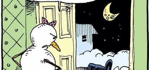 Plowed Snowman