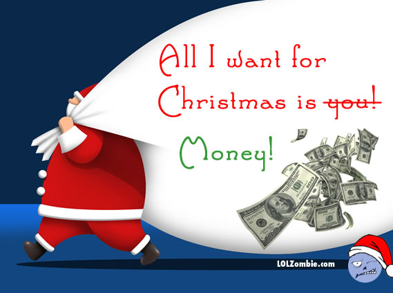 Christmas Love or Money?