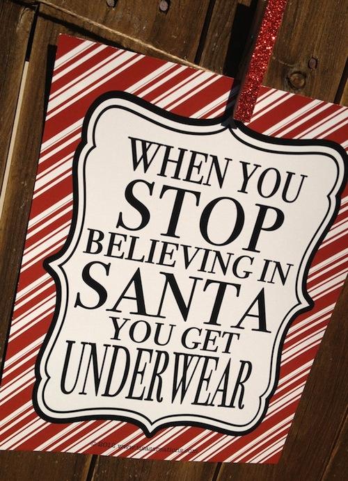 Christmas Underwear Present