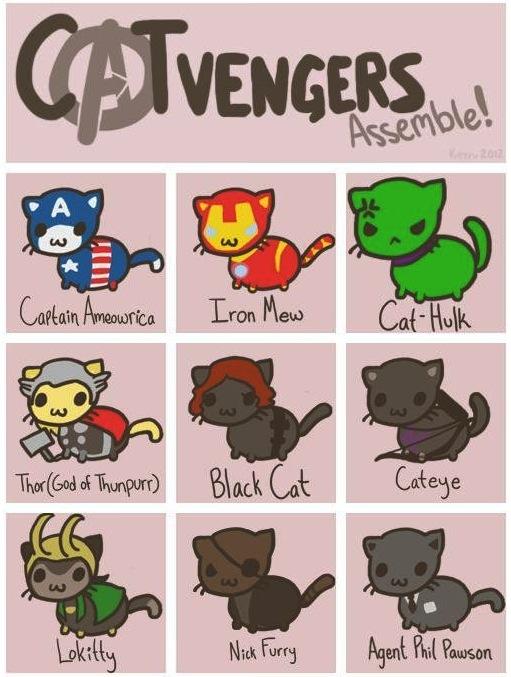 Cute Super Heros