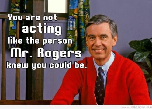 Mr Rogers Advice
