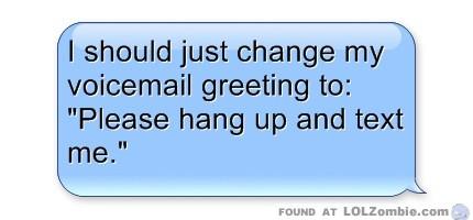 Text Message Bubble