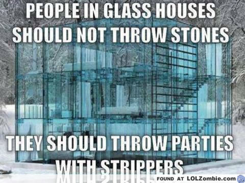 glass houses stripper show