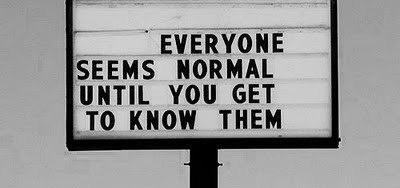 Weird Normal