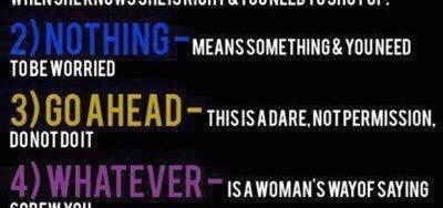 Woman Deadly Words