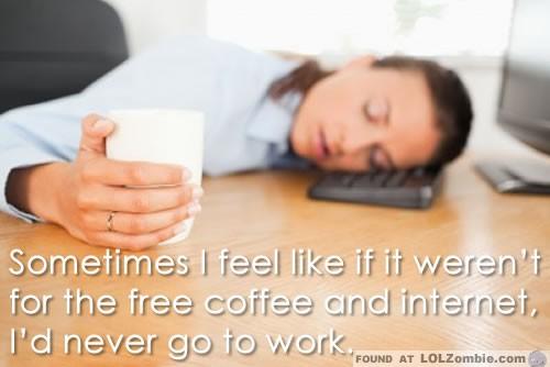 Free Coffee & Internet