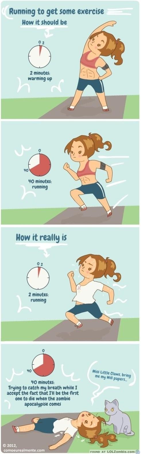 Running Reality