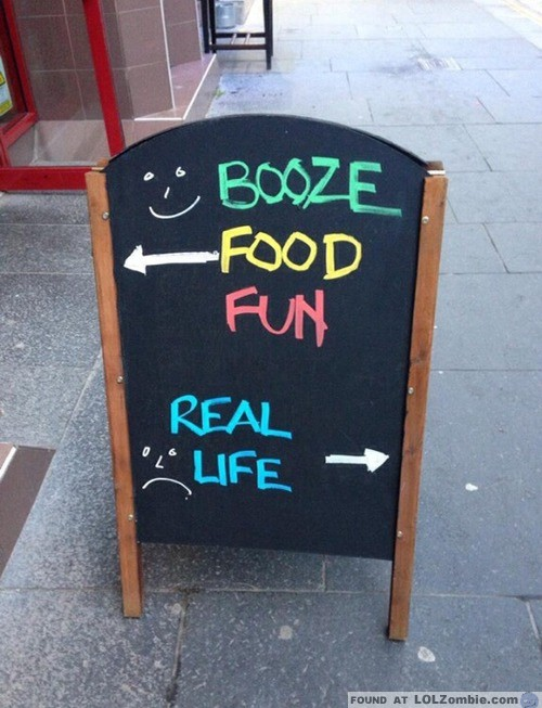 Real Life Sign