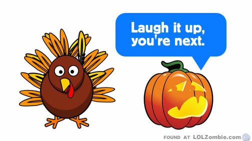 Carving Pumpkins and Turkeys