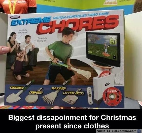 extreme chores video game