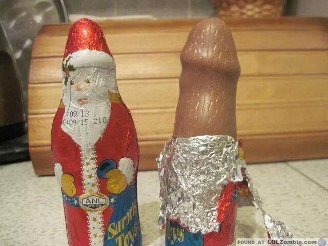 Chocolate Santa OMG
