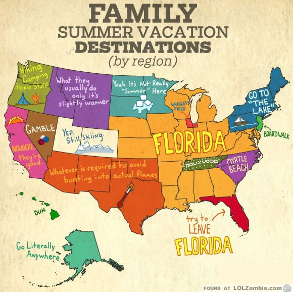 Summer Vacation Destinations