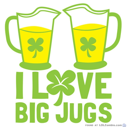 Love Big Beer Jugs