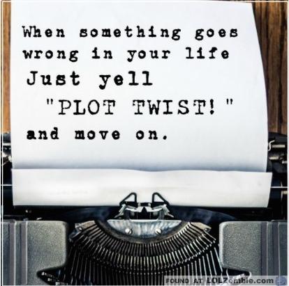 Typewriter - Plot Twist Paper