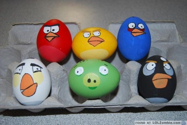 Angry Bird Easter Eggs