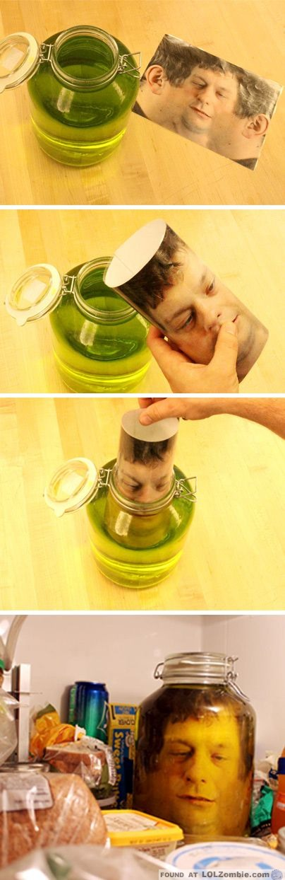 Head in a Jar