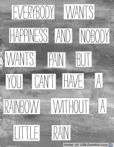 Pain Rain Quote